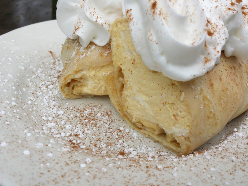 Pumpkin Pie Crepe