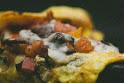 Spanish Omelet Crepe